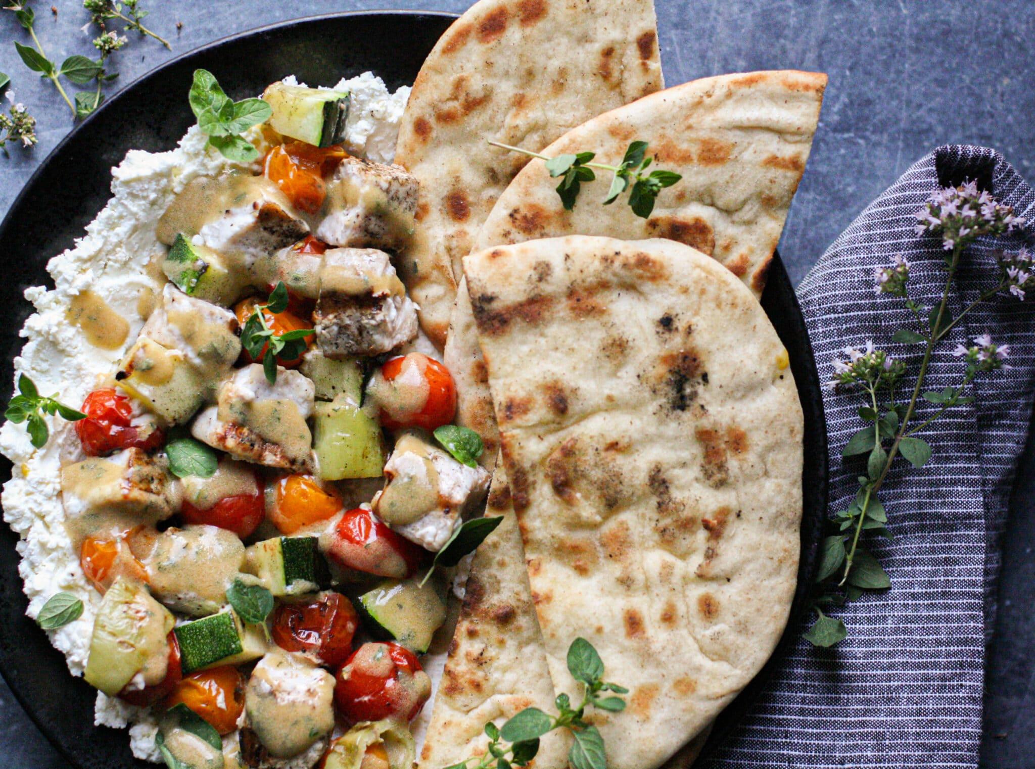 Mediterranean Swordfish Kebabs