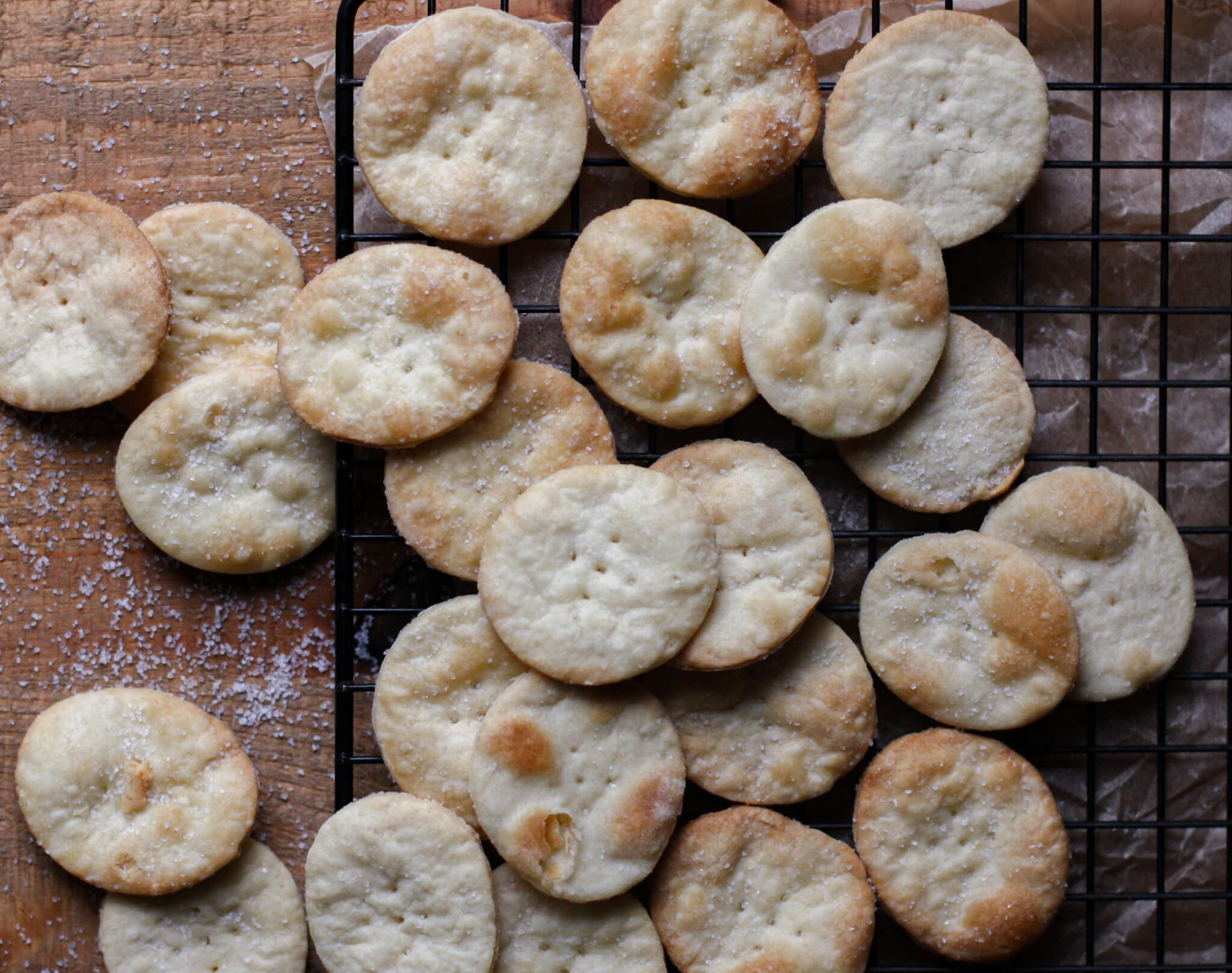 Homemade Butter Crackers