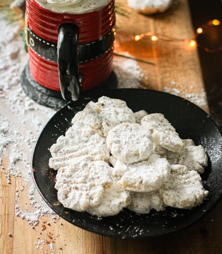 Vanilla Almond Smash Cookies