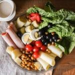 Italian Antipasti Salad w/ Parmesan Peppercorn Dressing