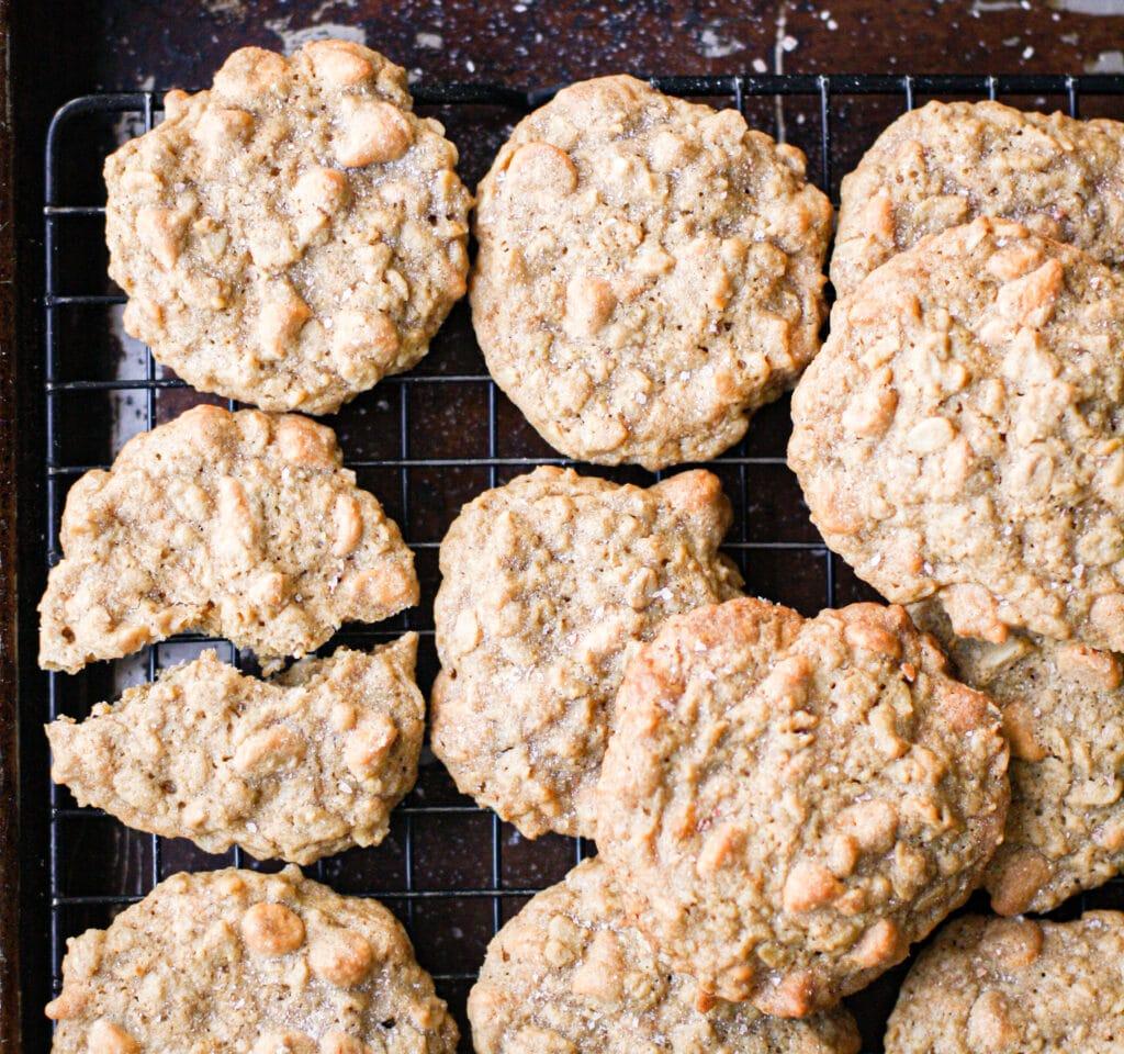 Salted Butterscotch Oatmeal Cookies