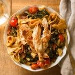 Chicken & Tomato Pappardelle