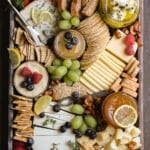 Springtime Cheese Board