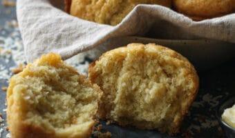 Coconut Corn Muffins