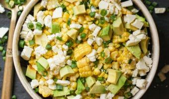 Sweet Summer Corn & Scallion Salad